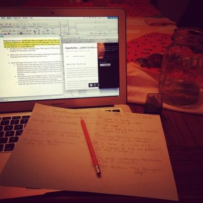 bilingual bilingualism espanolita writing
