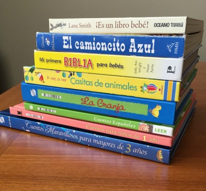 bilingual bilingualism espanolita language linguistics books reading Spanish children español