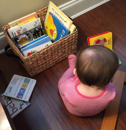 bilingual parenting bilingualism literacy books reading baby
