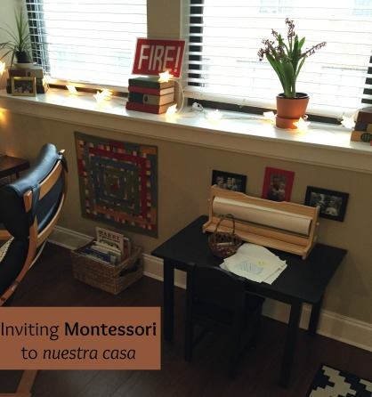 montessori prepared environment learning bilingual parenting bilingualism espanolita